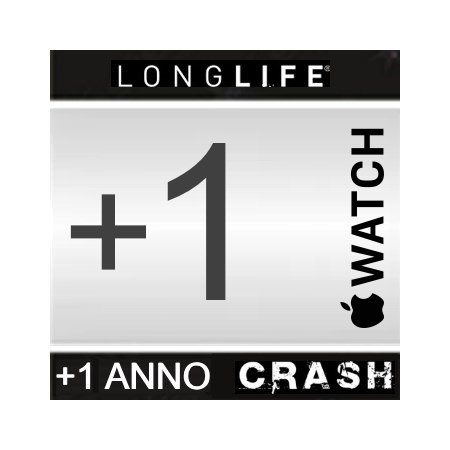 Estensione Assistenza - +1 Anno CRASH +1 Anno Apple Watch