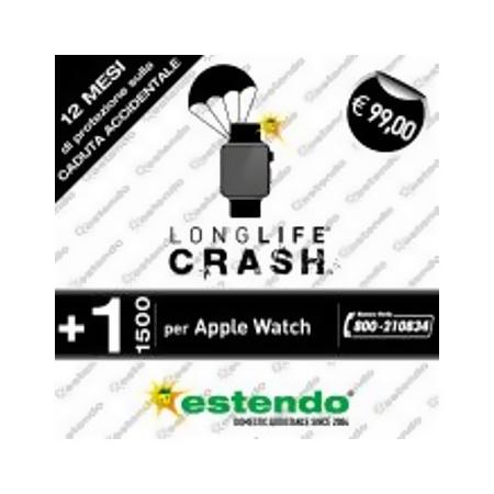 Estensione Assistenza Servizio di riparazione utilizzabile per Apple Watch - +1 Anno CRASH +1 Anno Apple Watch