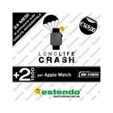 Estensione Assistenza Servizio di riparazione utilizzabile per Apple Watch - +2 Anni CRASH +2 Anni Apple Watch