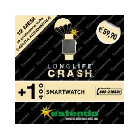Estensione Assistenza Servizio di riparazione utilizzabile per SmartWatch fino a 400€ - +1 Anno CRASH +1 Anno SmartWatch