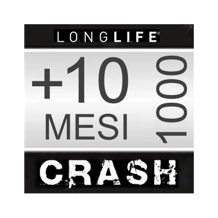 Estensione Assistenza Servizio di riparazione utilizzabile in caso di Caduta accidentale - +10 Mesi CRASH Smartphone da 800€ a 1000€