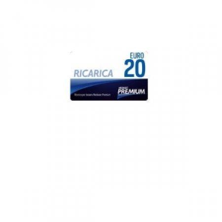 EURONET - CARD MEDIASET PREMIUM DA 20 EURO