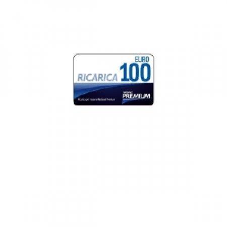 EURONET Card di ricarica per Mediaset Premium da 100 Euro - CARD MEDIASET PREMIUM DA 100 EURO