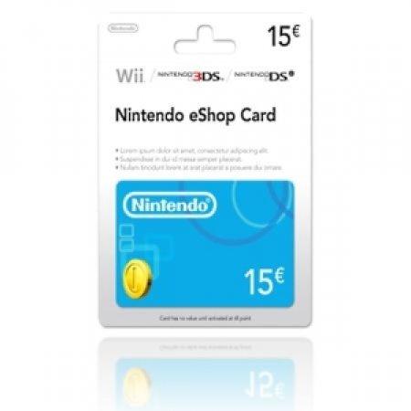 EURONET - NINTENDO ESHOP CARD DA 15 EURO