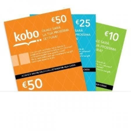 EURONET Kobo Gift Card del valore di 50 € - KOBO GIFTCARD 50 EURO
