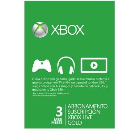 Microsoft - Xbox Live 3 Mesi