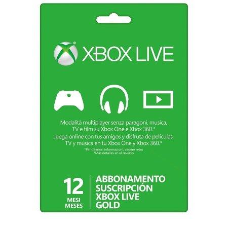 Microsoft - Xbox Live 12 Mesi