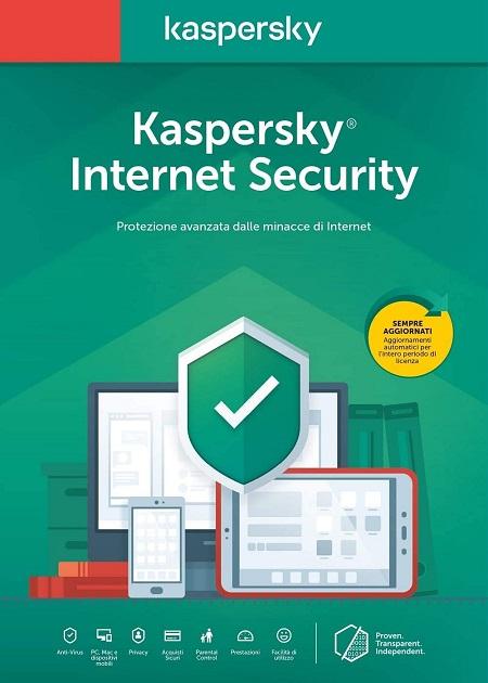 Euronet Kaspersky Internet Security - Kaspersky Internet Security 1 Utente 1 Anno
