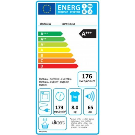 Electrolux Asciugatrice a condensazione - rex - Ew9he83s3
