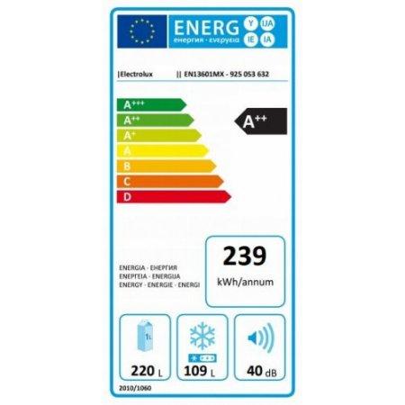 Electrolux Frigo combinato 2 porte ventilato - rex - En13601mx
