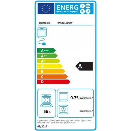 Electrolux Cucina a gas forno elettrico - rex - Rkk20161ow