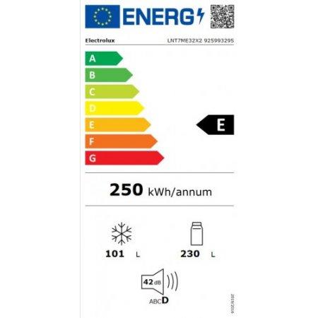 Electrolux Frigo combinato 2 porte ventilato - rex - Lnt7me32x2