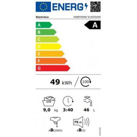 Electrolux Lavatrice carica frontale 9 kg. - rex - Ew8f494w