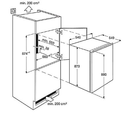 Electrolux Frigorifero monoporta - Ern1400aow