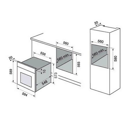 Electrolux Incasso Forno da incasso Elettrico - EOC3400AOX