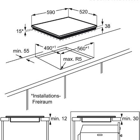 Electrolux Piano cottura ad induzione in vetroceramica - Ehh6240iok