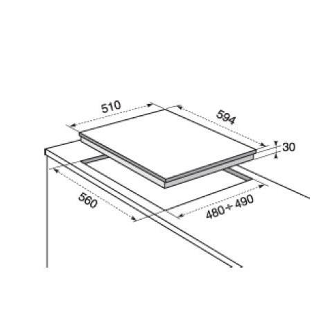 Electrolux Piano cottura CrossCook Soft - Rgg6343lon