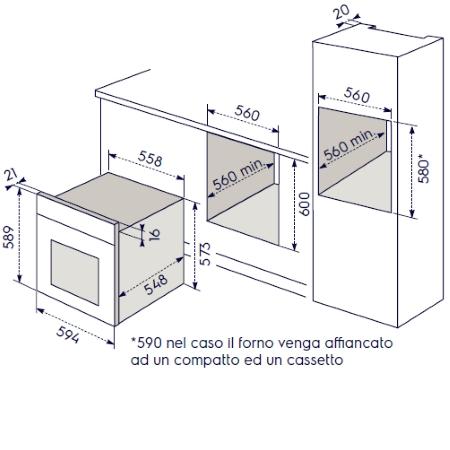 Electrolux Forno ad incasso - Eob2400aoz