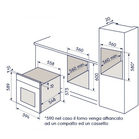 Electrolux Forno elettrico da incasso - Rob2200aon