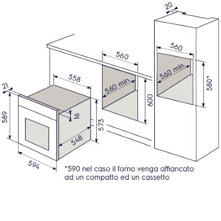 Electrolux Forno elettrico da incasso - Rob2210aox