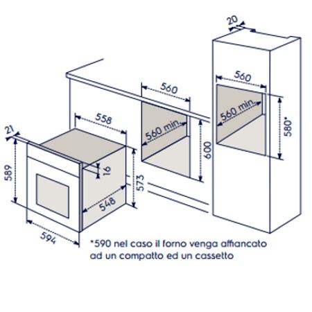 Electrolux Forno elettrico pirolitico da incasso - Eoc5400aox