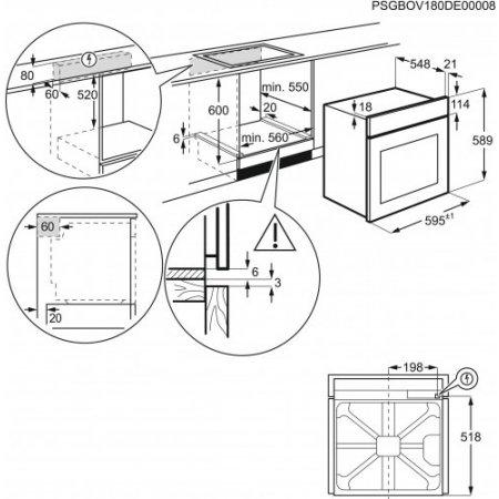 Electrolux Forno elettrico - rex - Eoc6611aox