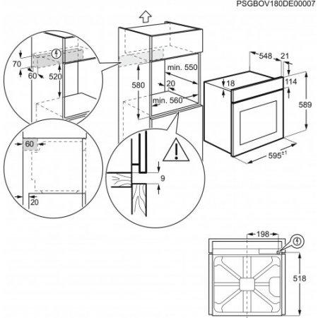 Electrolux Forno elettrico - rex - Eoc3401aox