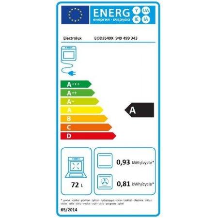 Electrolux Forno elettrico 2990 w - rex - Eod3s40x