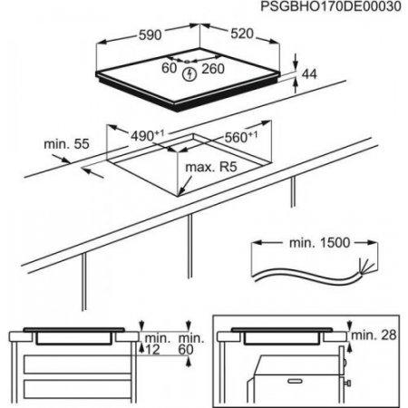 Electrolux Piano cottura ad induzione - rex - Eir60420ck