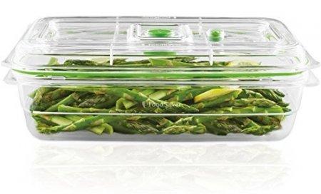 Food Saver - Contenitore per Sottovuoto da 2.3 L, Trasparente