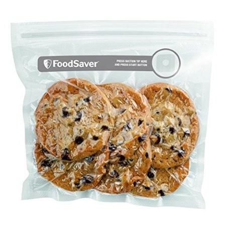 Food Saver - 26 Sacchetti con Zip per Sottovuoto 20x22