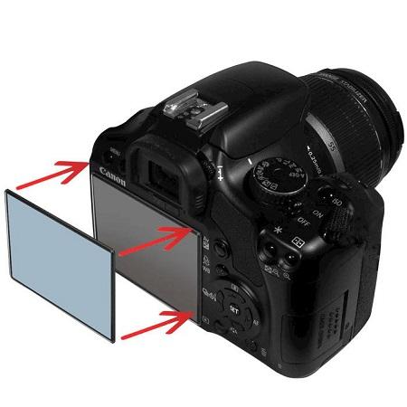 """Reporter REPORTER Protezione per schermo LCD da 3.0'' - PROTEZIONE DISPLAY 3,07"""" POLICARBONATO"""