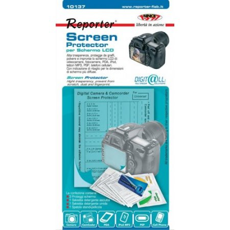 Reporter 3 per confezione pellicola protettiva fotocamera - 10137