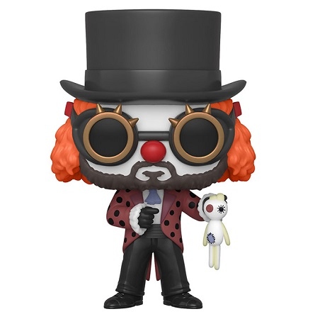 "Funko - 44196  POP! prof. Clown ""La Casa di Carta""."