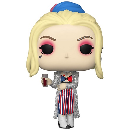 Funko - 44369 POP! Harley Quinn, in versione Black Mask Club, dal film Birds Of Prey