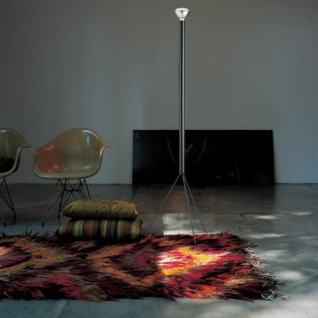 Flos Lampada da terra - LUMINATOR TR H185 E27 ANTRACITE - F3770033
