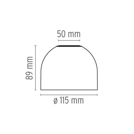 Flos Lampada a parete o soffitto - WAN C/W 40W G9 BIANCO F9550009
