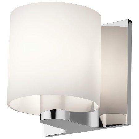 Flos materiale alluminio, vetro opale bianco - Tilee Pa 60w G9 Cromo V/bianco F7460009