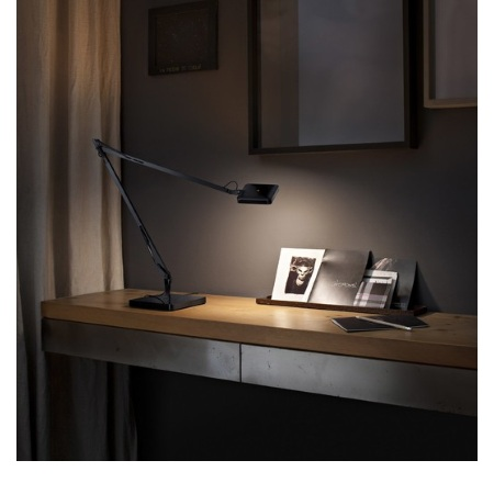 Flos materiale alluminio - Kelvin Led Base Green Mode Nero