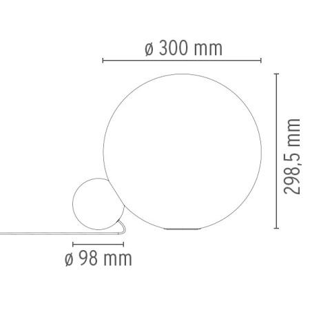 Flos Lampada da tavolo - COPYCAT VETRO ORO 1 F1952044