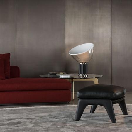 Flos Lampada da tavolo - TACCIA LED (PMMA) NERO F6607030