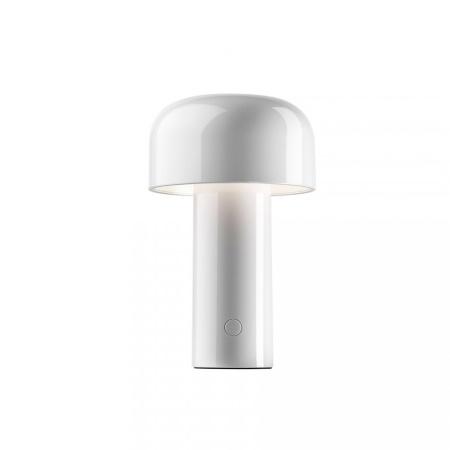 Flos Bellhop Bianco Battery Lampada Da Tavolo Ricaricabile - F1060009