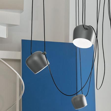 Flos Aim Blu Acciaio materiale alluminio, policarbonato - F0090023