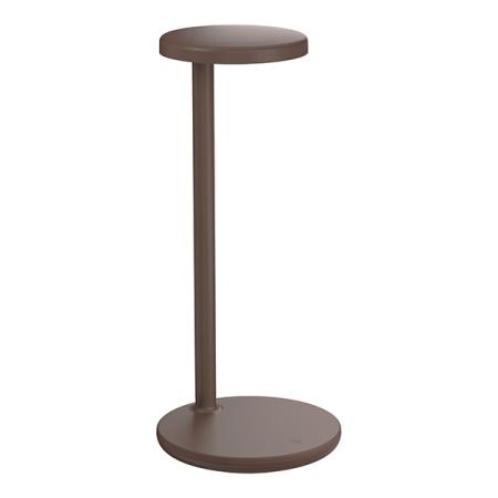 Flos Lampada da tavolo a LED - Oblique Marrone 09.8300.dw