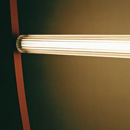 Flos Wireline Rosa Lampada a sospensione a luce diffusa - F9520034