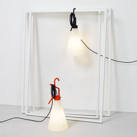 Flos Lampada portatile - MAYDAY TA 60W E27 NERO F3780030