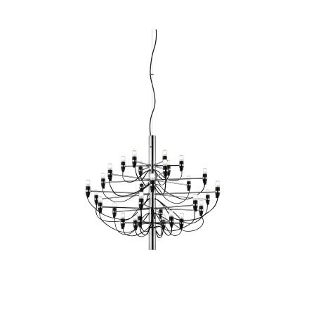Flos Lampada a sospensione a luce diffusa - 2097/30 SO 30X15W E14 Cromo - A1400057