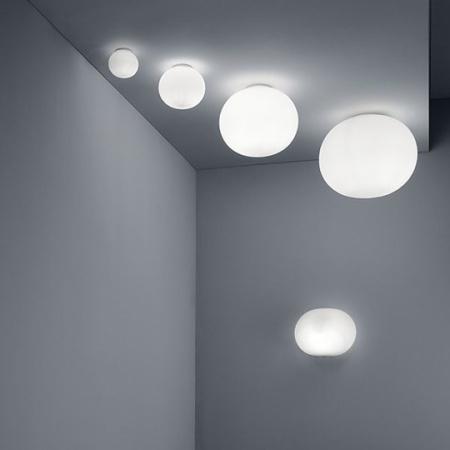 Flos lampada a parete - Glo-ball W 100w E27