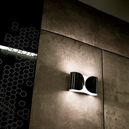 Flos diffusore in acciaio tranciato - Foglio Pa 2x100w E27 Bianco