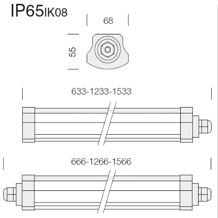 Fos Nova - Roda Basic 1784 Led 18W - Lampada da esterno - 2217847000